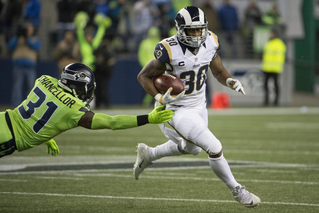 Enraged fan, Todd Gurley get into it over Fantasy Football