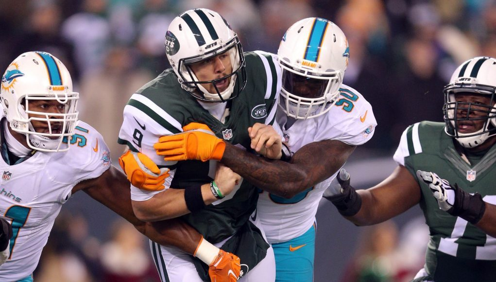 Spiritless New York Jets toppled by Miami Dolphins (Highlights)