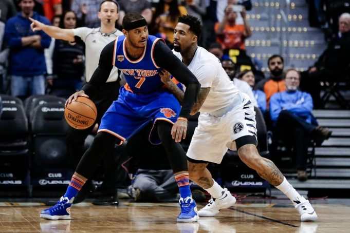 New York Knicks end West Coast road trip with embarrassing loss to Nuggets (Highlights)