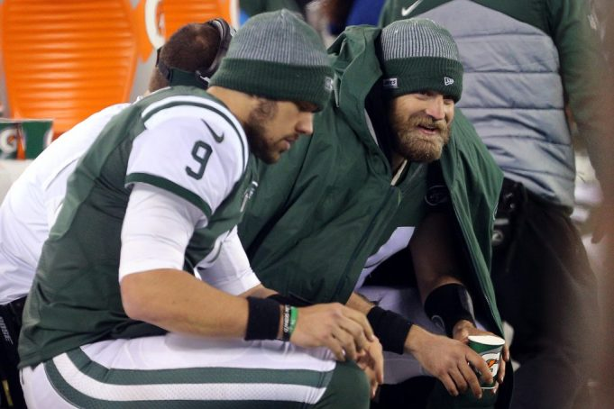 There's only one familiar phrase with the New York Jets in Foxborough: Just End The Season