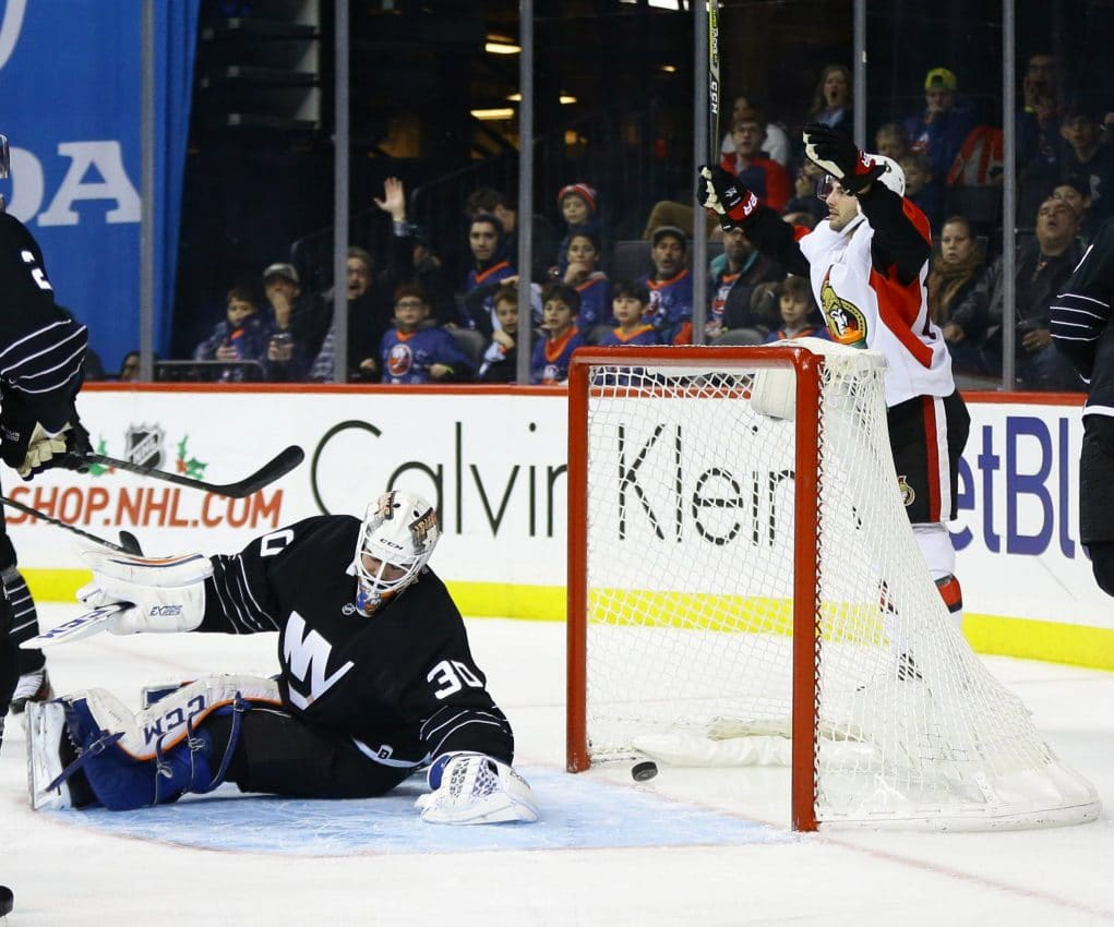 New York Islanders fail to capitalize, drop game to Ottawa Senators 2