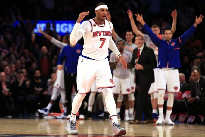 New York Knicks snap losing streak vs. Pacers behind Carmelo Anthony's 35 (Highlights) 2