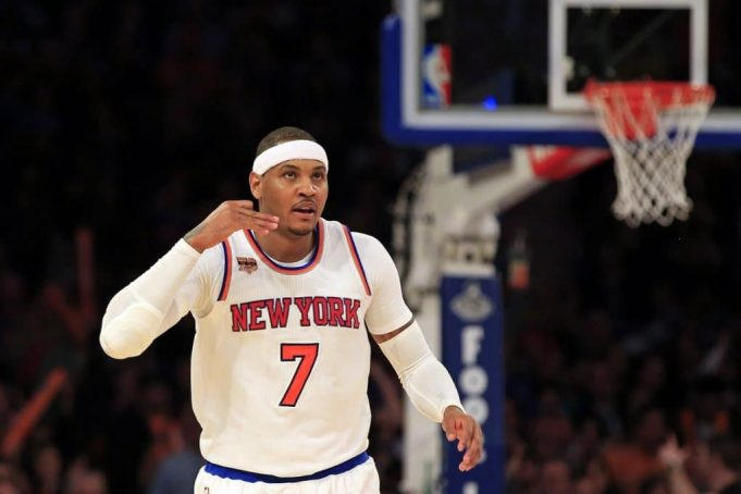 New York Knicks: Carmelo Anthony thinks All-Star voting should be left to fans