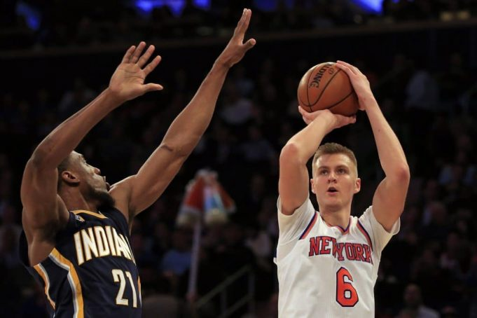 New York Knicks: Jeff Hornacek doesn't think Kristaps Porzingis' future is at center 2