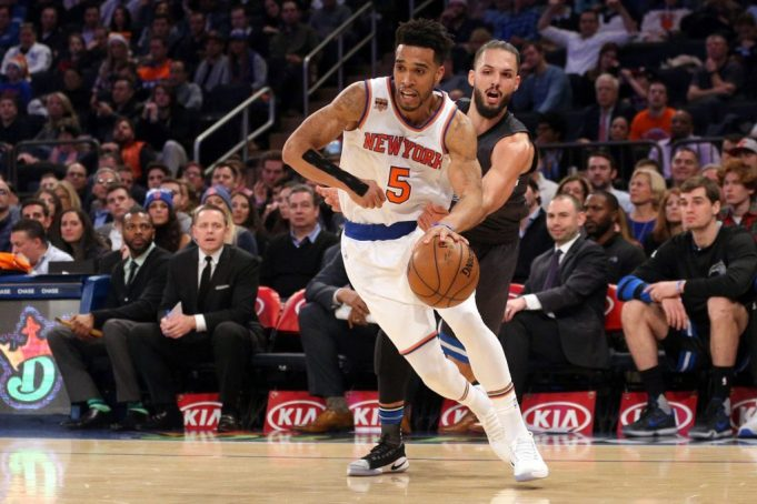 New York Knicks: Courtney Lee (sore wrist) out vs. Atlanta Hawks