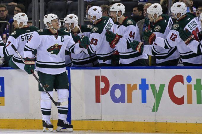 Henrik Lundqvist pulled in New York Rangers 7-4 loss to Minnesota Wild (Highlights)