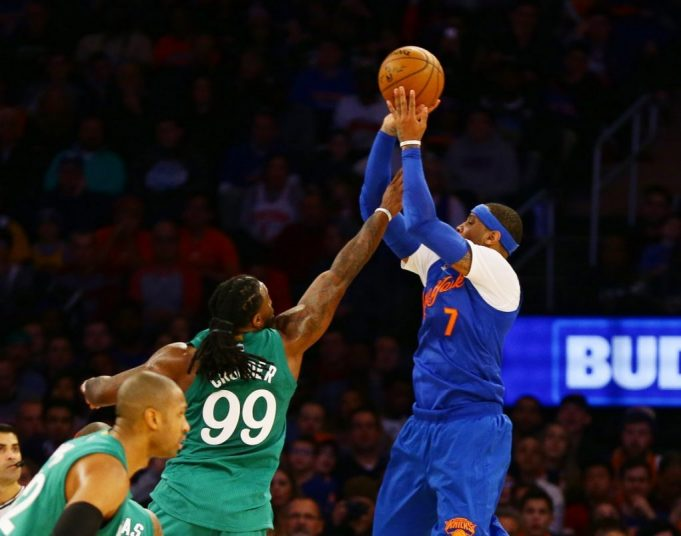New York Knicks: Carmelo Anthony debuts signature shoe on Christmas Day 1