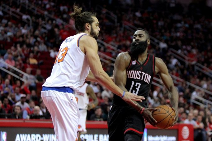 New York Knicks lose fourth straight behind historic performance from Rockets' James Harden (Highlights)