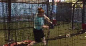Top New York Yankees' prospect shows off 'legendary' bat speed (Video)
