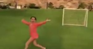 Former Yankees' DH Alex Rodriguez gives up homer to daughter (Video)