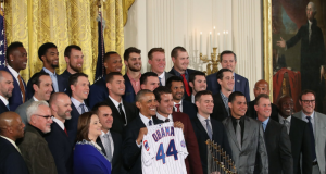 Chicago Cubs visit White House to celebrate 2016 World Series title 1