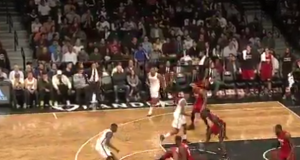 Brooklyn Nets' Caris LeVert busts Wayne Ellington's ankles in filthy fashion (Video)