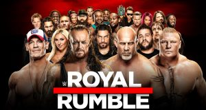 Star-studded Royal Rumble match has WWE at its best