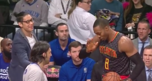 Brooklyn Nets' Jeremy Lin gets caught hard by Dwight Howard (Video)