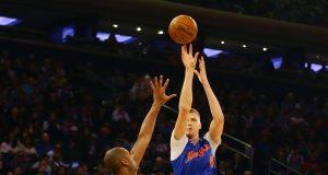 New York Knicks vs. Boston Celtics: Kristaps Porzingis out, Ron Baker starting