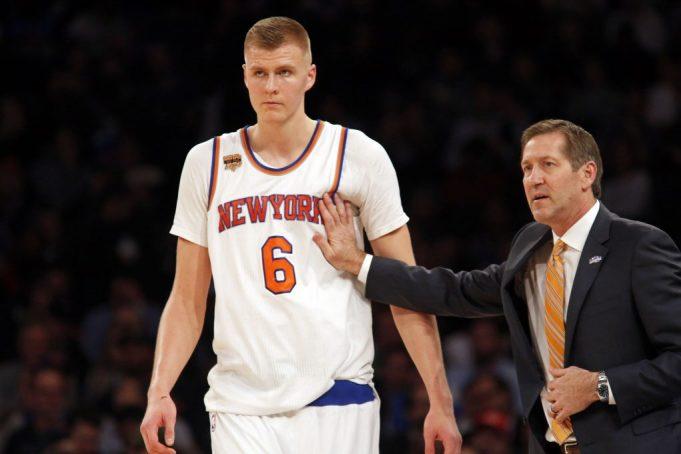 New York Knicks: Jeff Hornacek says unlikely Kristaps Porzingis plays Wednesday