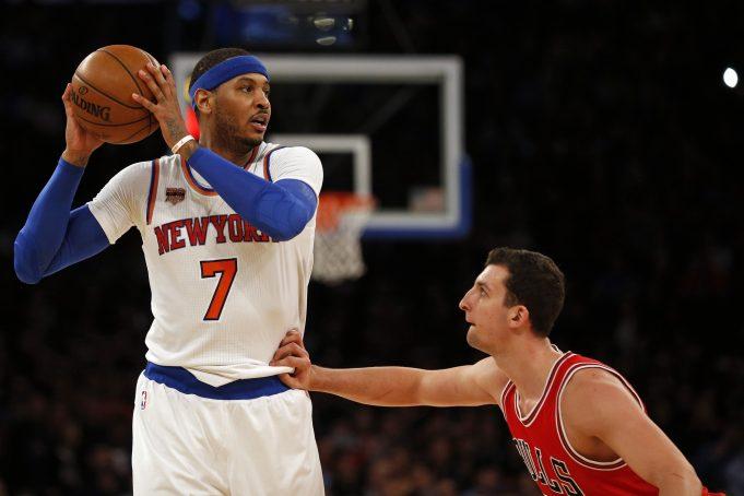 New York Knicks: Carmelo Anthony, Derrick Rose star in big win vs. Bulls (Highlights)