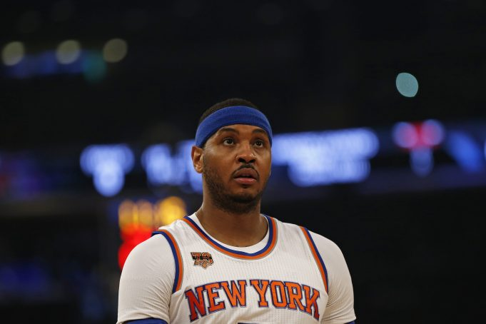 New York Knicks: Carmelo Anthony unwilling to waive no-trade clause (Report)