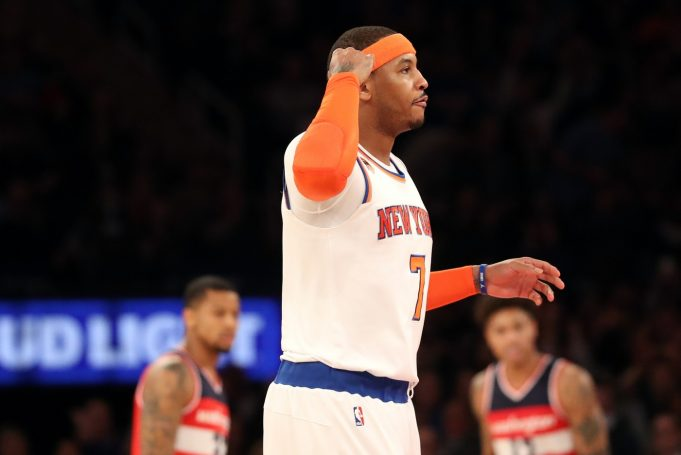New York Knicks spoil Carmelo Anthony's night with embarrassing loss to Wizards (Highlights)