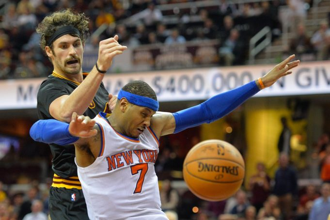 New York Knicks: Cleveland Cavaliers not interested in offer of Carmelo Anthony for Kevin Love (Report)