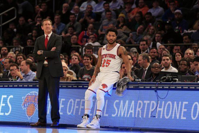 New York Knicks: Jeff Hornacek says Derrick Rose's ankle injury isn't 'major'