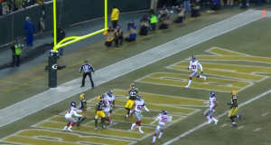 Aaron Rodgers completes spectacular Hail Mary right before halftime (Video)