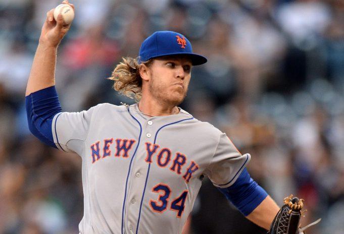 New York Mets' ace Noah Syndergaard trolls Mr. Met yet again (Tweet)