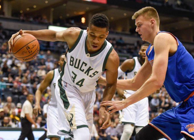 Knicks' Porzingis on Giannis Antetokounmpo: 'He's definitely a problem for every team'