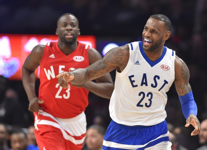 2017 NBA All-Star Game starting lineups announced