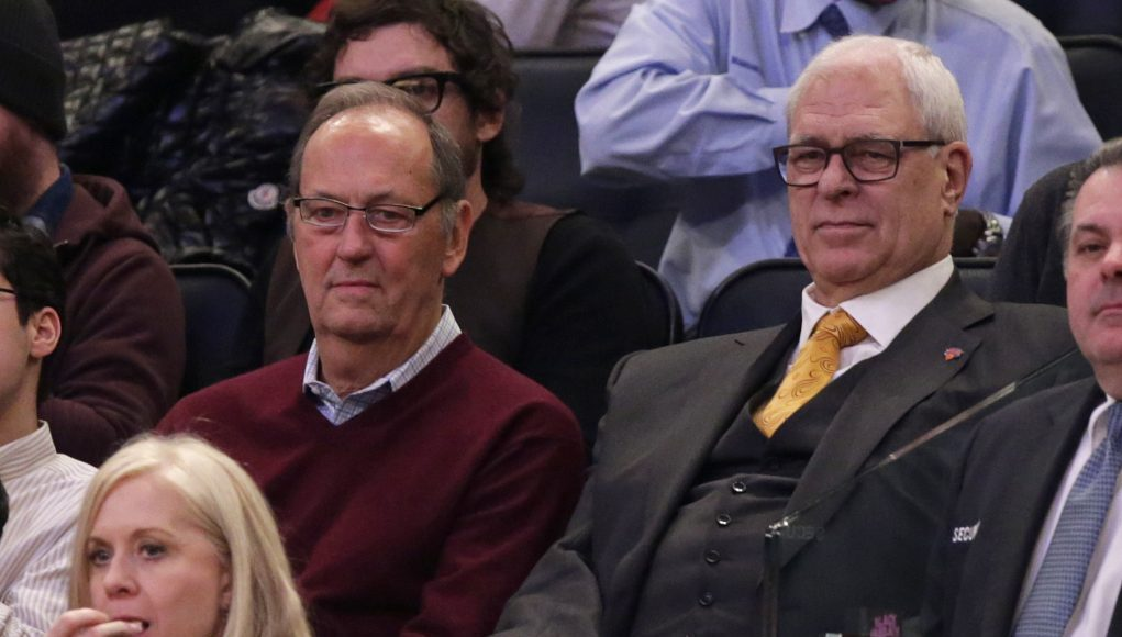 No offense to the Zen Master, but these New York Knicks aren't working out