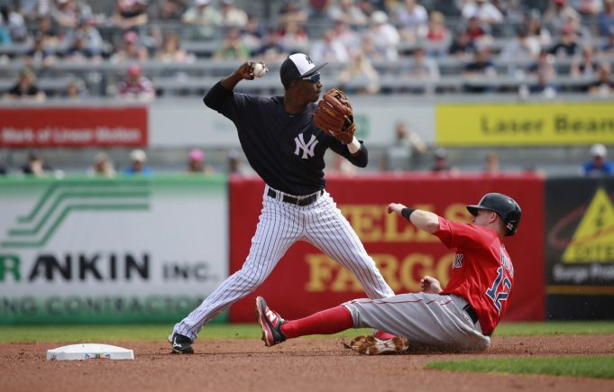 Duo of New York Yankees earn spots on MLB Pipeline's top shortstops list