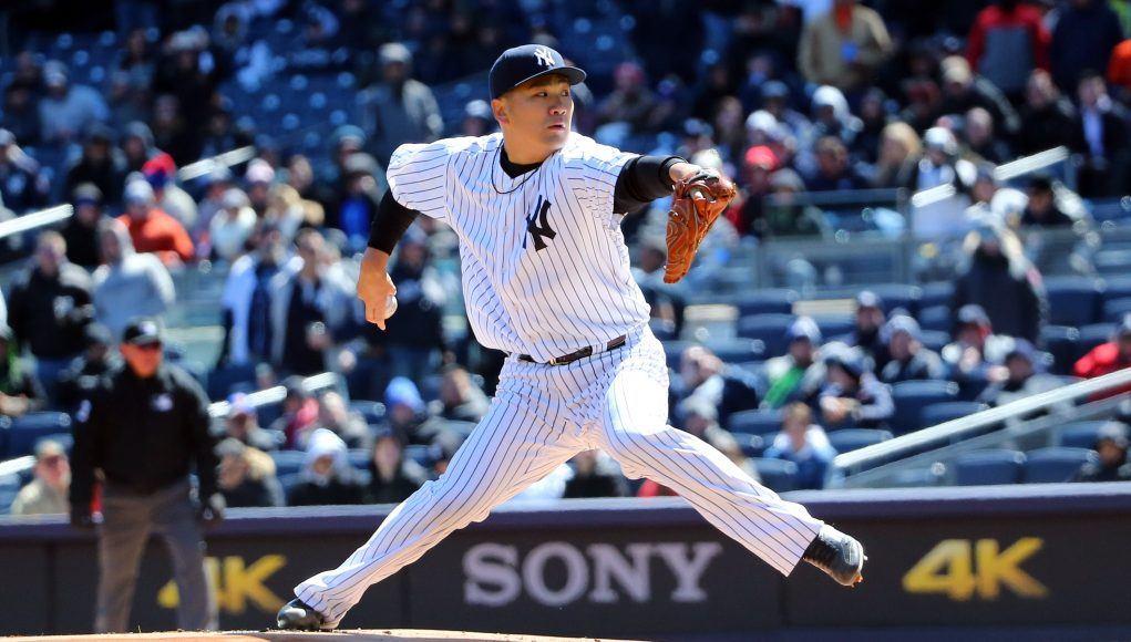 The New York Yankees are in a sticky situation with Masahiro Tanaka