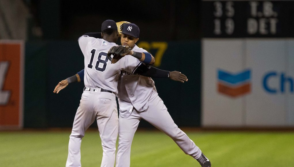 The New York Yankees have one of baseball's best middle infields