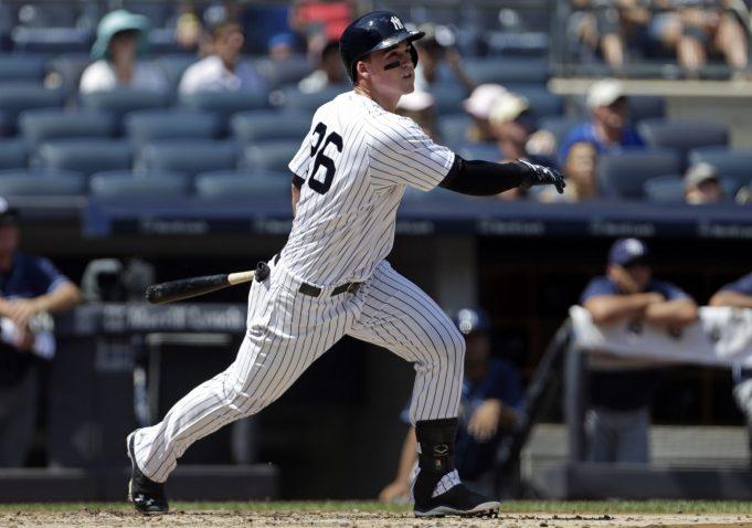 New York Yankees: Tyler Austin working on versatility, 'bombing' the ball