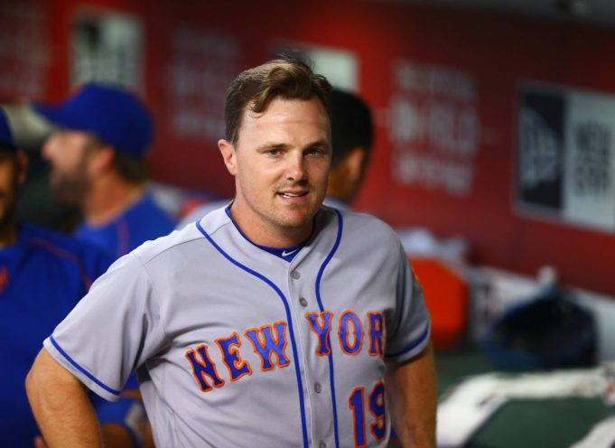 New York Mets to start Jay Bruce in right field to open 2017