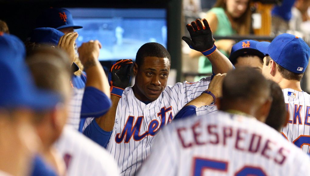 How inconsistent has the New York Mets' hitting been? 1