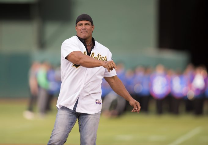 Jose Canseco gets nuts about Jeff Bagwell's induction into the Baseball Hall of Fame