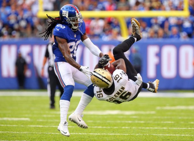 New York Giants: Janoris Jenkins throws trash talk towards Jordy Nelson