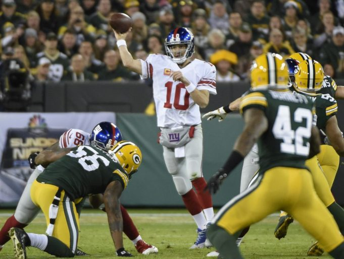 Five reasons why the New York Giants will defeat the Green Bay Packers
