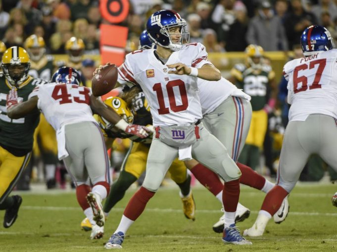 New York Giants hoping for Deja Vu against Aaron Rodgers, Packers