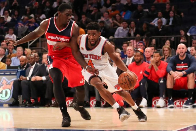 New York Knicks: Chasson Randle is looking for a new home