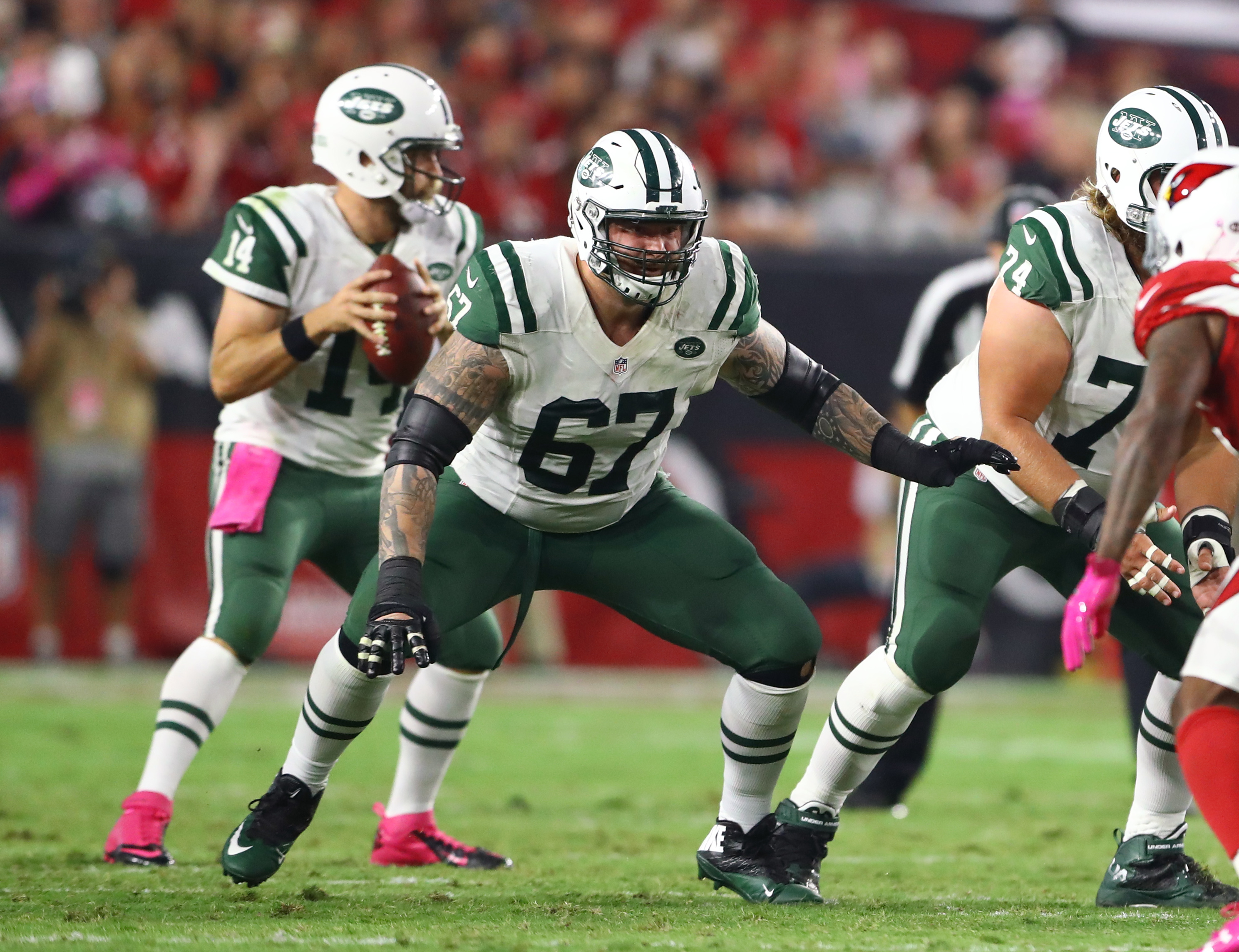 Signing free agent Brian Winters is crucial for the New York Jets