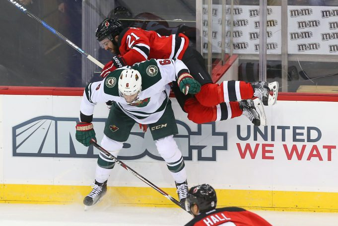 New Jersey Devils road trip concludes against Staal, Minnesota