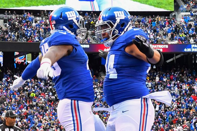 The New York Giants have a 'giant' gap at left tackle