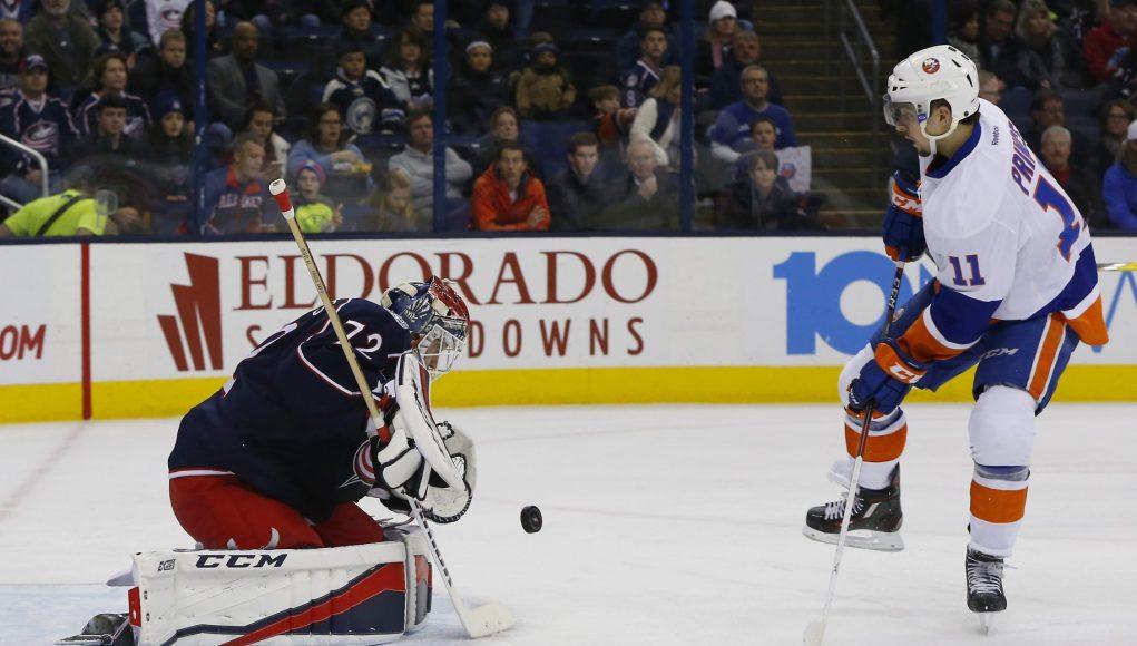 New York Islanders aim to keep point streak alive vs. Columbus