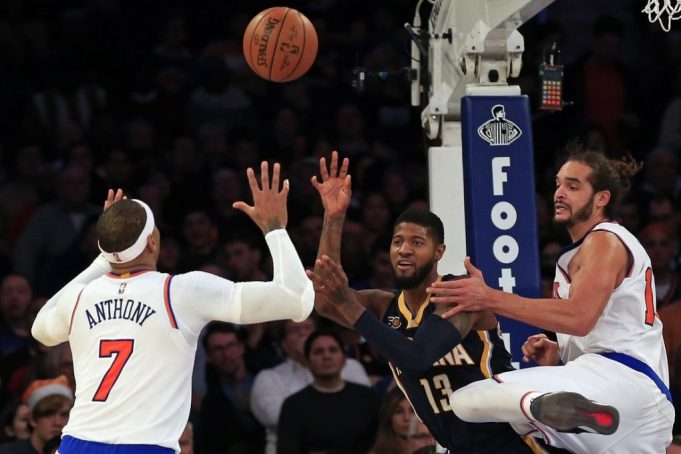 New York Knicks will try and build on momentum against streaking Indiana Pacers