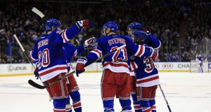 With Mika Zibanejad back, the New York Rangers forward lines are filthy (Video)