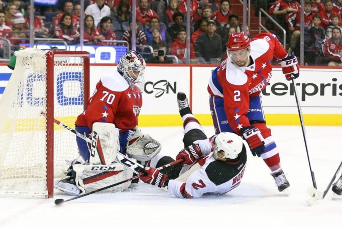 New Jersey Devils' John Moore lucky to only have a concussion 1