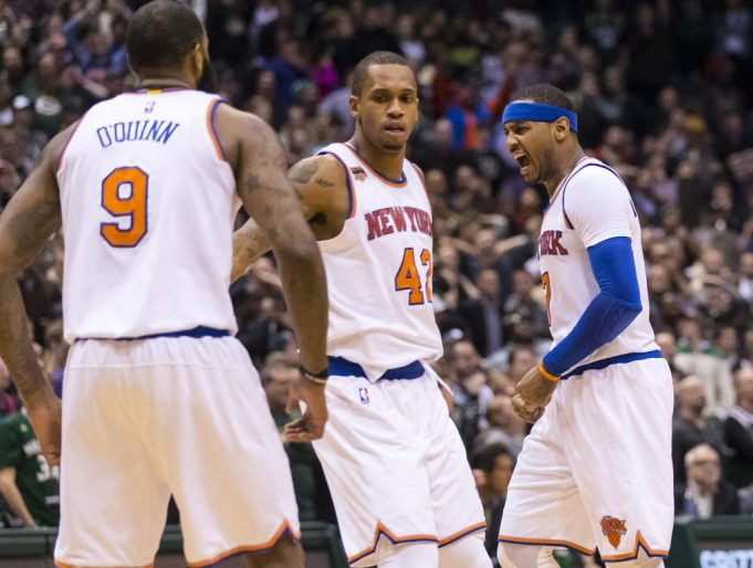 Ron Baker's fundamentals, toughness lead New York Knicks in Milwaukee (Highlights)