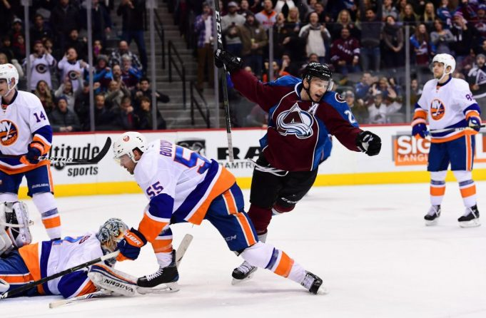 New York Islanders edged by Avalanche 2-1 in OT 2